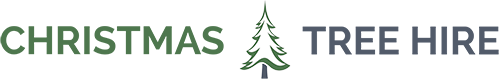 """Christmas Tree Hire,  """"We are passionate about our Christmas trees… and it shows"""" ! V94F6T1 Logo"""
